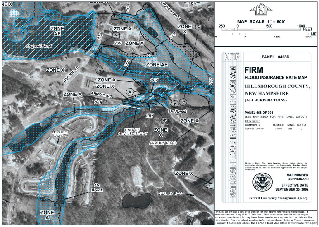 Flood Zone Map Fema Flood Map By Address